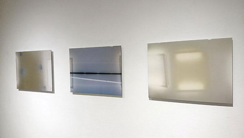Foto triptiek Lightseeing van Inge Reisberman bij Galerie Bos Fine Art