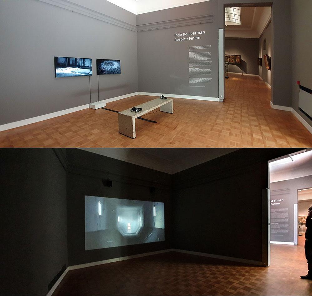 Tentoonstelling Inge Reisberman in Rijksmuseum Twenthe, videoserie Respice Finem, verlengd tot en met 25 augustus 2019